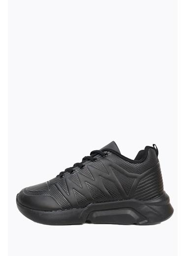 Derigo Siyah-Siyah Kadın Spor Ayakkabı 702225 Siyah